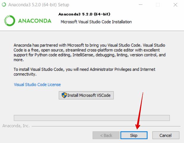 『 windowsでpython環境構築-anakonda 』 ..Visual studio code はスキップします。..