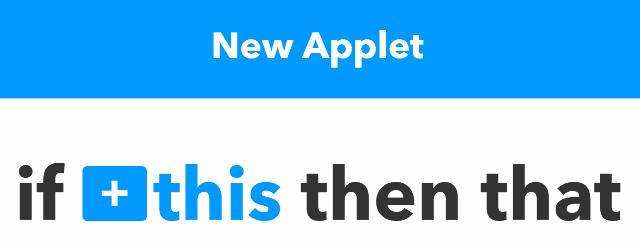 『 【完全図解】ifttt使い方とgoogle_sheetの連携 』 ..if this then thatになっています。IFTTTの由来ですね。..