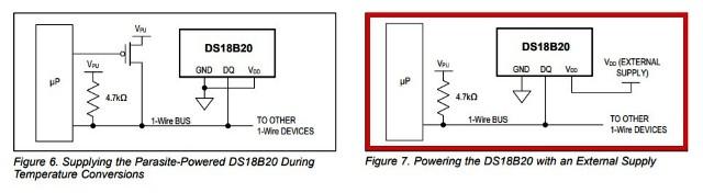 『 【iot農業・温度】スマホで温度センサーの値を表示させてみた 』 ..配線図配線は2つの方法があると記されています。..