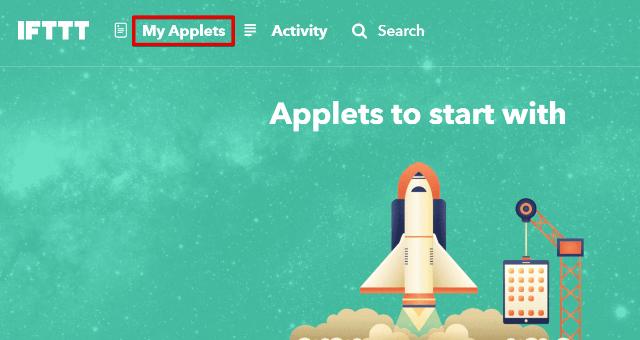 『 【完全図解】ifttt使い方とgoogle_sheetの連携 』 ..アプレットを作成するグーグルドライブと連携したらMy Appletsをクリックします。(連携がなくてもここから始めます)..