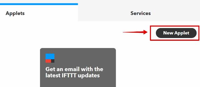 『 【完全図解】ifttt使い方とgoogle_sheetの連携 』 ..新しいアプレットをクリックします。..