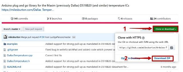 『 【iot農業・温度】スマホで温度センサーの値を表示させてみた 』 ..One Wireライブラリはここから、Arduino-Temperature-Control-Libraryはここからダウンロード出来ます。..