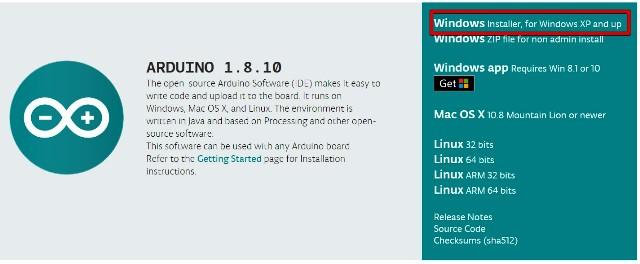 『 arduino IDEをインストールしてesp32を使ってみる 』 ..Windows Installerを選択します。..