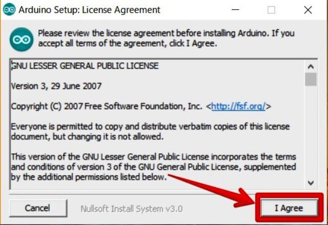 『 arduino IDEをインストールしてesp32を使ってみる 』 ..同意して次に進みます。..