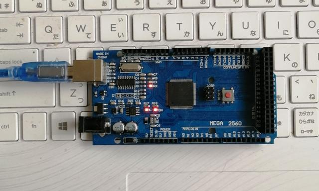 『 arduino IDEをインストールしてesp32を使ってみる 』 ..早速arduinoボードを接続してみます。ここではarduino megaをUSBポートに繋いでみました。Arduino unoでももちろんOKです。..